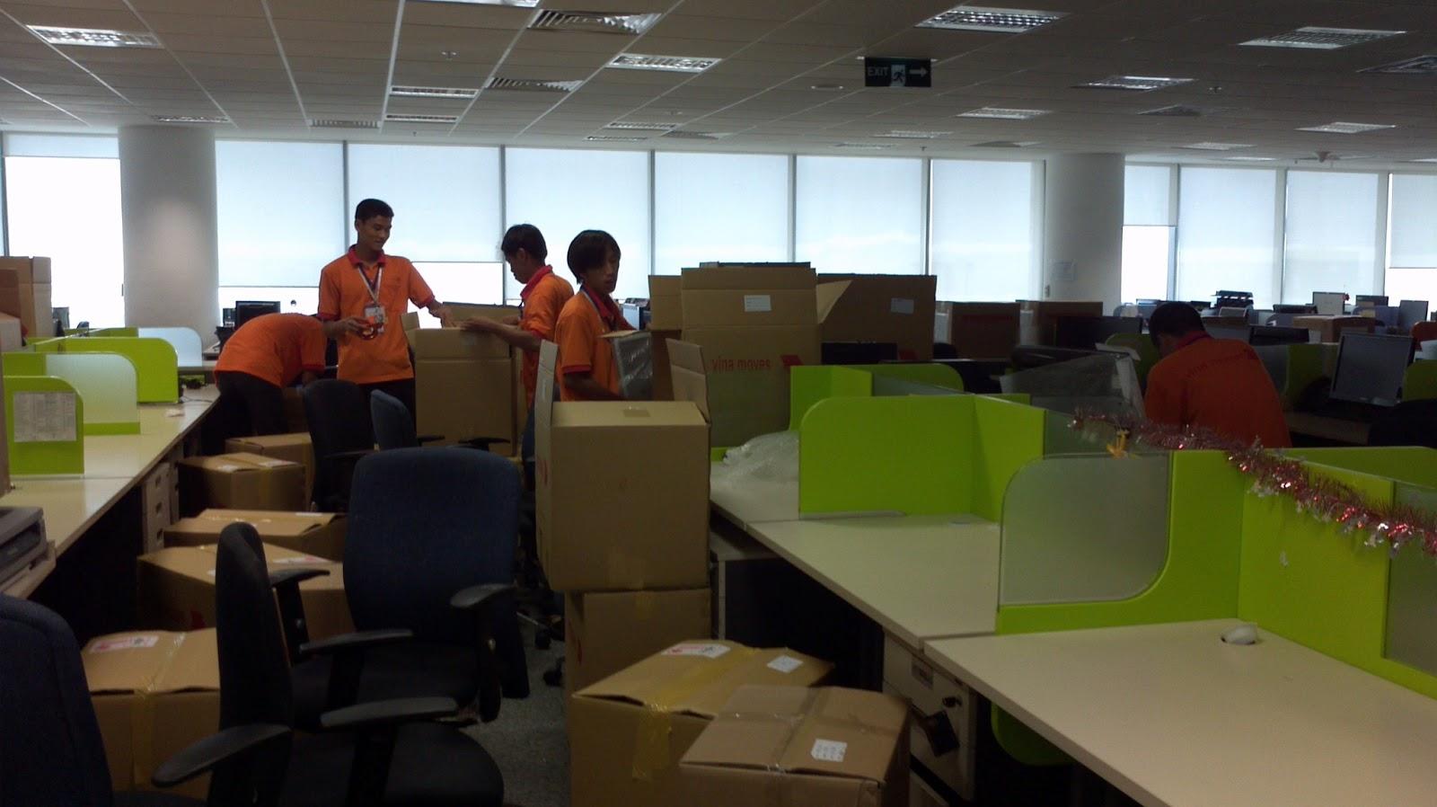 Chuyển văn phòng trọn gói quận Long Biên
