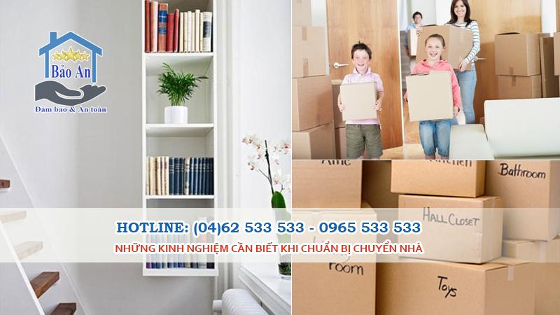 Kinh nghiệm sử dụng dịch vụ chuyển nhà trọn gói