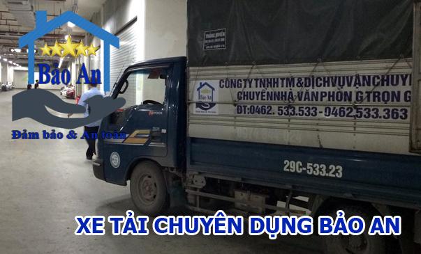 xe tải bảo an