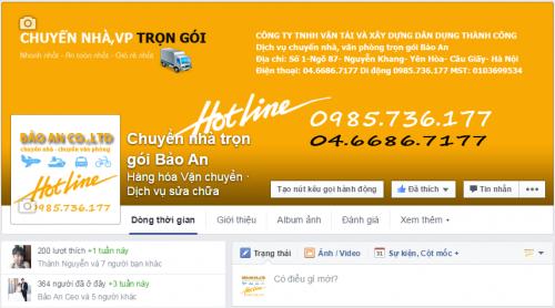 facebook chuyen nha tron goi bao an