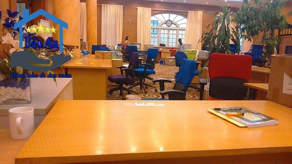 Sắp xếp văn phòng SNV tương đối hoàn thiện
