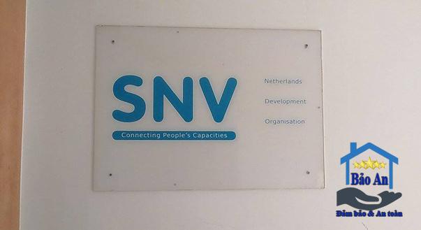 Chuyển văn phòng tại SNV 1