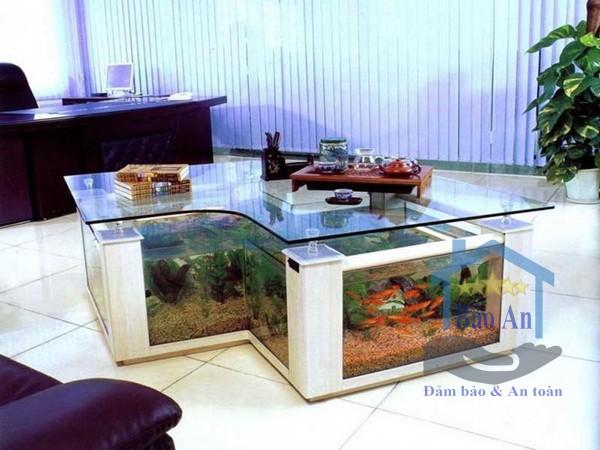 Những vị trí phù hợp cho việc đặt bể cá cảnh trong nhà