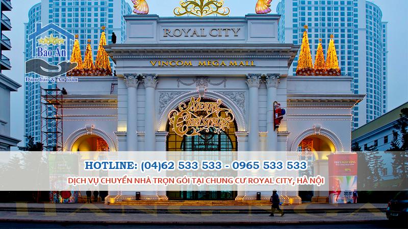 Dịch Vụ Chuyển Nhà Trọn Gói tại Chung Cư Royal City, Hà Nội
