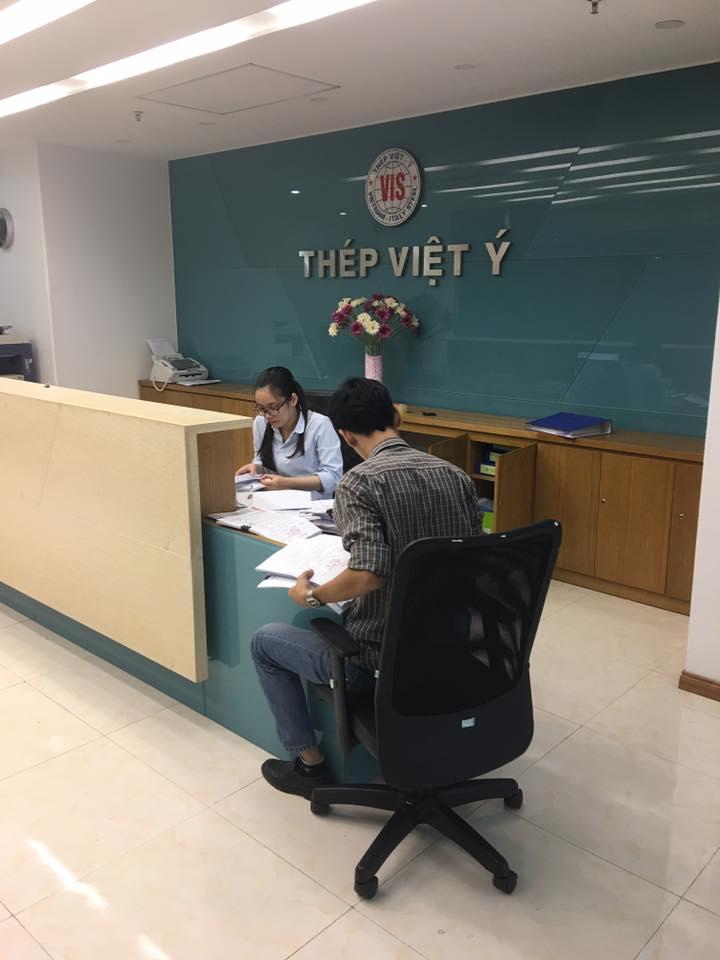 Chuyển văn phòng Thép Việt Ý