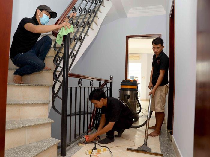 Dịch vụ dọn nhà kiếm bội tiền cuối năm