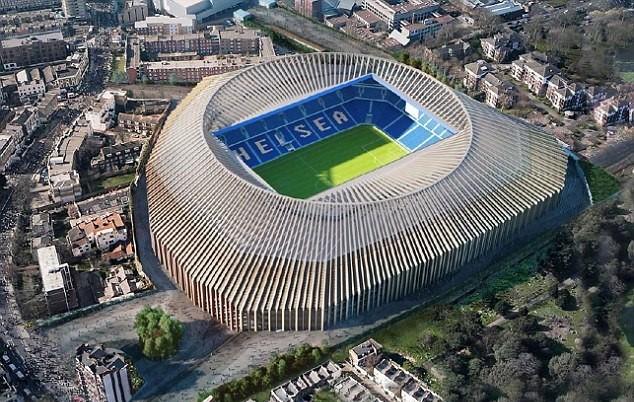 Chelsea sẽ chuyển nhà từ Stamford Bridge về Wembley từ mùa sau