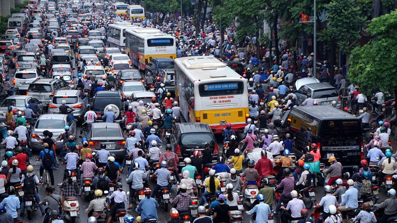 200.000 USD cho ý tưởng chống tắc đường tại Hà Nội