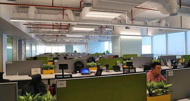 Hình ảnh chuyển văn phòng tập đoàn Huawei Việt Nam